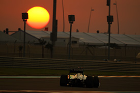 Showdown at sunset in Abu Dhabi