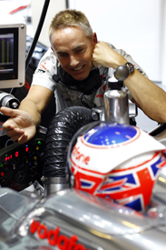 Martin Whitmarsh with Jenson Button