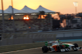 Tonio Liuzzi, Force India, Abu Dhabi 2010