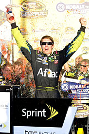 Phoenix winner Carl Edwards, 2010