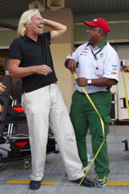 Richard Branson and Tony Fernandes
