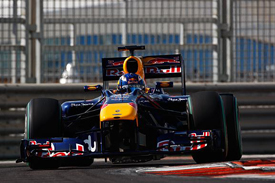 Daniel Ricciardo, Red Bull, Abu Dhabi testing