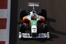 Antonio Felix da Costa, Force India, Abu Dhabi testing