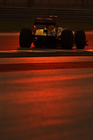 Robert Kubica, Renault, Abu Dhabi