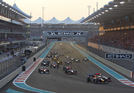 Abu Dhabi start 2010