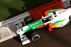 Yelmer Buurman, Force India, 2010 Abu Dhabi test
