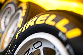 Pirelli tyres, 2010