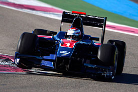 Adam Carroll, iSport, GP2 test 2010