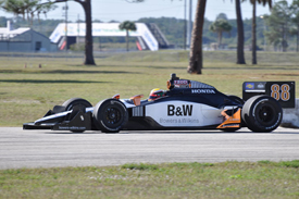 Ho-Pin Tung tests for FAZZT at Sebring