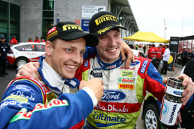 Mikko Hirvonen and Jari-Matti Latvala