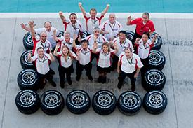 Bridgestone has wrapped up 14 years in F1