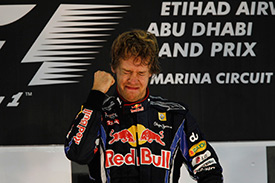 Vettel choked back the tears after his title-winning drive