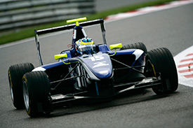 Dean Smith battled hard in GP3 this season