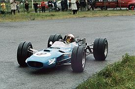 Sir Jackie Stewart winning the 1968 Dutch Grand Prix for Matra
