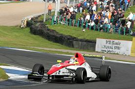 Tom Blomqvist blasted his way to the Formula Renault UK title