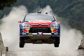 Citroen was class of the field with its C4 WRC