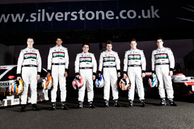 Six young drivers are battling for the McLaren AUTOSPORT BRDC Award