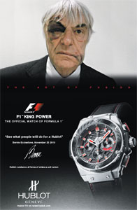 Ecclestone ad