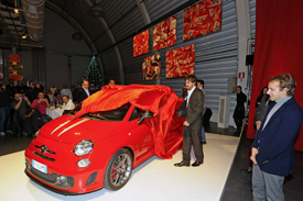 Christmas celebrations at Ferrari