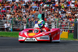 Felipe Massa at his karting event in 2009