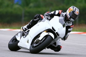 Jonathan Rea, Honda testing at Sepang