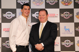 Graham Rahal and Chip Ganassi