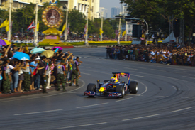 Mark Webber, Red Bull demo in Thailand