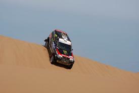 Stephane Peterhansel, X-Raid BMW, Dakar 2011
