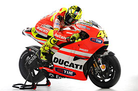 The new Ducati GP11