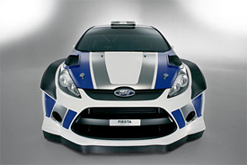 Ford Fiesta WRC car