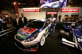 Ford Fiesta WRC at AUTOSPORT International