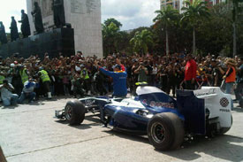 Pastor Maldonado, Williams demo, Venezuela