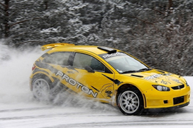 Proton testing in the snow