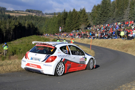 Bryan Bouffier, Peugeot, Monte Carlo 2011