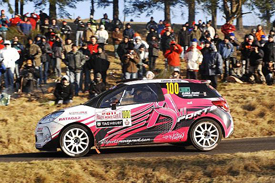 Daniel Elena on the Monte Carlo Rally