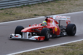 Felipe Massa, Ferrari F150 at Fiorano