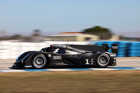 Audi R18, Sebring testing