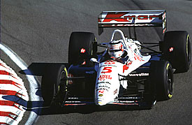 Nigel Mansell was IndyCar champion in 1993