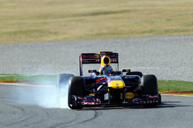 Sebastian Vettel, Red Bull, Valencia testing 2011