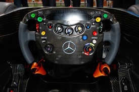McLaren MP4-26 steering wheel
