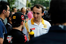 Timo Glock, Robert Kubica