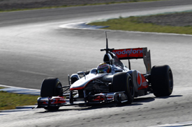 Lewis Hamilton, McLaren, Jerez testing 2011