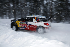 Sebastien Loeb, Citroen, Sweden 2011