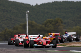 Superleague Formula at Navarra in 2010