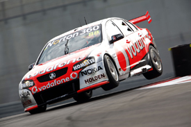 Jamie Whincup, Triple Eight Holden, Abu Dhabi 2011