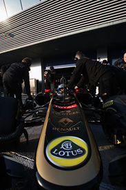 Nick Heidfeld, Renault, Jerez testing 2011