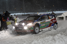 Mikko Hirvonen, Ford, Sweden 2011