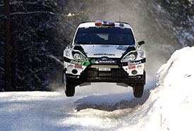 Mads Ostberg, Rally Sweden, 2011