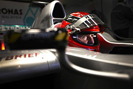 Michael Schumacher, Jerez test, 2011