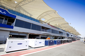 GP2 equipment at Sakhir